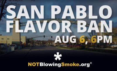 San Pablo Flavor Ban