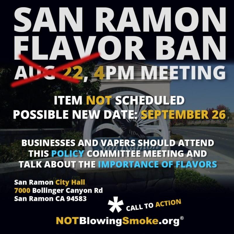 San Ramon Flavor Ban