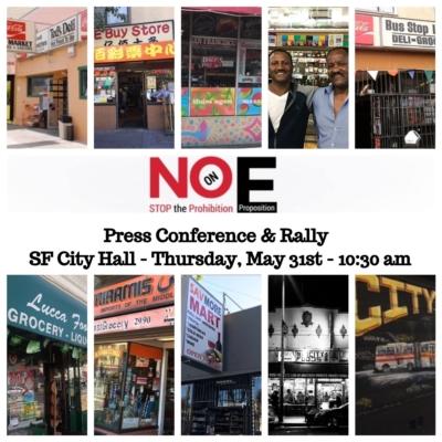 No On E Rally